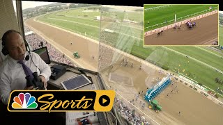 Download Belmont Stakes 2018: Justify's Triple Crown win from Larry Collmus' POV I NBC Sports Video