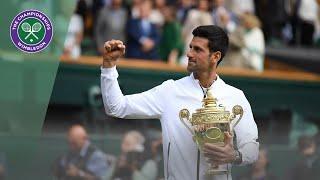 Download Wimbledon 2019 gentlemen's singles trophy presentation Video