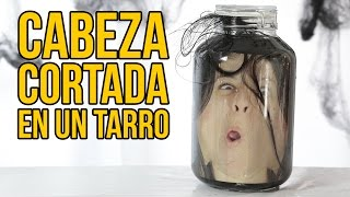 Download Cómo simular una CABEZA CORTADA dentro de un TARRO (Broma de Halloween) Video