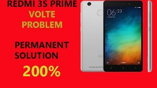 How To Solve Volte Problem In Redmi 3s & 3s Prime || How to call