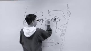 Download whiteboard sketch (timelapse) Video