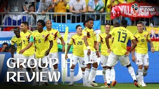 Download Colombia and Japan progress - Group H Review! Video