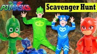 Download PJ Masks Scavenger Hunt for Toys with Gekko Catboy Owlette Video