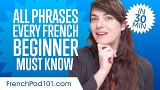 Download 100 Phrases Every French Beginner Must-Know Video