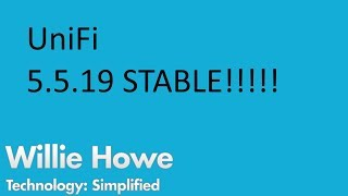 Download UniFi 5.5.19 STABLE RELEASE!!!!!! Video