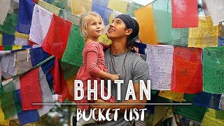 Download HAVE YOU HEARD OF BHUTAN??! /// The Bucket List Family Video