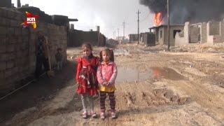 Download Боевики под Мосулом при отступлении поджигают нефтяные скважины Video