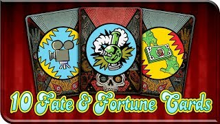 Download TOP 10 Fate & Fortune Cards (Infinite Warfare Zombies Call Of Duty) Custom Zombies F&F Cards / Ideas Video