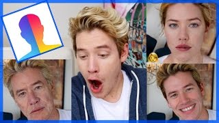 Download Trying FaceApp DISGUSTING! Video