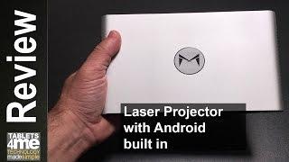 Download Xming M1 ALPD Portable Laser Projector DLP 1080P HD 2600 Lumens and Kodi Compatible Video