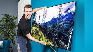 Download LG's OLED Wallpaper TV – Can we use it as a WINDOW?? Pt.1 Video