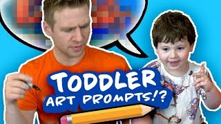 Download MY 3 YEAR OLD TODDLER tells me what to DRAW!? Video