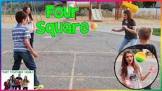Download FOUR SQUARE - PLAYGROUND WARS / That YouTub3 Family Video
