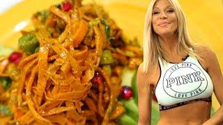 Download Sweet Potato Pasta Recipe | Gluten Free Pasta | Raw Vegan Video
