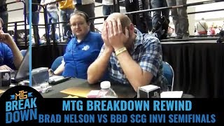 Download MTG Breakdown Rewind - Brad Nelson vs Brian Braun-Duin SCG Invitational Legacy Semifinals Video