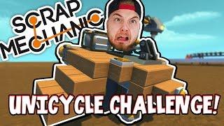 Download Scrap Mechanic - UNICYCLE CHALLENGE! VS AshDubh - [#41] | Gameplay Video