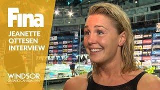 Download Jeanette Ottesen   Interview   Winner of Women's 50m Butterfly   Windsor 2016 Video