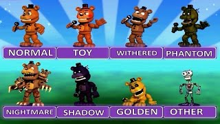 Download Five Nights at Freddy's World EXTRA MENU ″All Characters″ Video