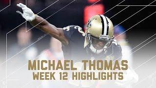 Download Michael Thomas' Huge 2 TD Day! | Rams vs. Saints | NFL Week 12 Player Highlights Video