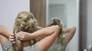 Download Tutorial de penteado - coque moderno para festas Video