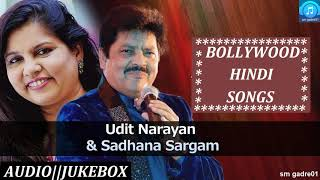 Download Best of Udit Narayan & Sadhna Sargam Bollywood Hindi Songs Jukebox Songs Video