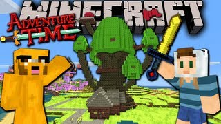 Download Minecraft: Adventure Time! Map Quest with Jake in Ooo - Ep.1 - Treehouse & Candy Kingdom Video