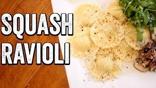 Download BUTTERNUT SQUASH RAVIOLI Video