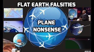 Download Flat Earth Falsities - Plane Nonsense Video
