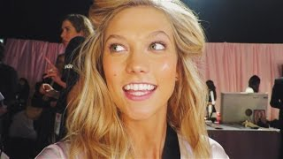 Download Backstage @ 2014 VS Fashion Show | Karlie Kloss Video