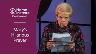 Download Funny Prayer about Getting Old at the Caregiver of the Year Dinner Video