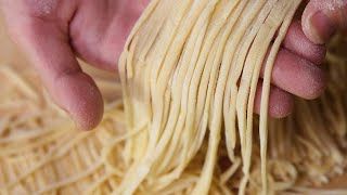 Download THE ART OF HOMEMADE NOODLES - How to make Chinese Noodles At Home (Recipe) Video