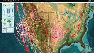 Download 4/18/2018 - Earthquakes reaching above M5.0 - Spreading across regions rapidly Video