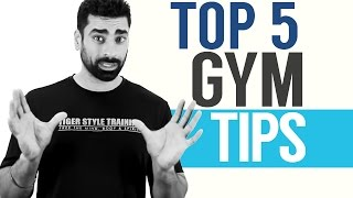 Download TOP 5: Gym Tips for Beginners Video