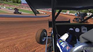 Download iRacing World of Outlaws Sprint Car Series at Lanier Video
