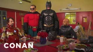 Download Batman Wants To Join The Marvel Universe - CONAN on TBS Video