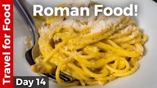 Download Italian Food - AMAZING ROMAN FOOD and Attractions in Rome, Italy! Video