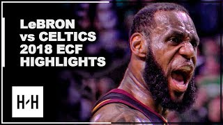 Download LeBron James EPIC Full Series Highlights vs Celtics | 2018 Playoffs East Finals Video