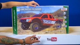 Download RC ADVENTURES - Unboxing a Vaterra Ford Raptor Pre Runner 4WD Truck RTR w/ AVC Technology Video