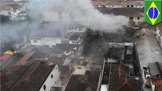 Download Brazil plane crash: Presidential candidate Eduardo Campos killed in Santos Video