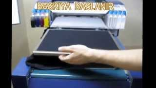 Download Dikili T-Shirt Dijital Baskı Makinesi POWERJET 1 / Digital T-Shirt Printer Video