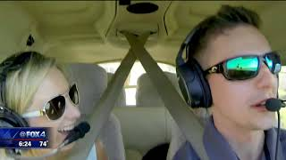 Download North Texas man goes airborne for marriage proposal Video