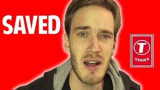 Download These YouTubers Saved Pewdiepie From T Series Video