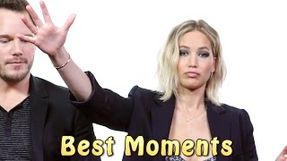 Download Jennifer Lawrence And Chris Pratt ★ Best Funniest Moments Video