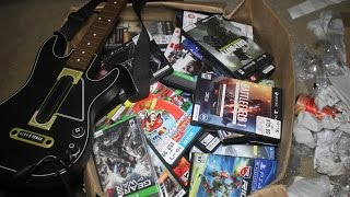 Download GameStop Dumpster Dive! Huge Haul Of Xbox One and PS4 Game Cases + More!! Video