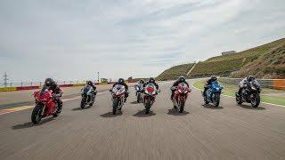 Download Comparativa supersportive 2017: Aprilia, BMW, Ducati, Honda, Kawasaki, MV, Suzuki, Yamaha Video