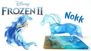 Download Frozen 2 Inspired Resin Nokk Horse DIY Tutorial Video