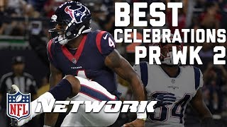 Download Best Touchdown Celebrations from Preseason Week 2 | Watch the Zone | GMFB | NFL Network Video