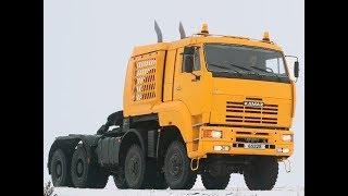Download Самый мощный российский грузовик КамАЗ-65228 Video
