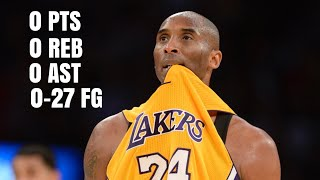Download Worst Single Game Performances By Great NBA Players Video