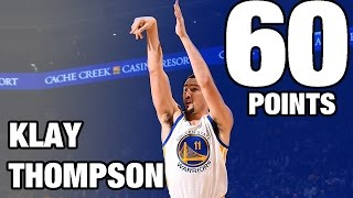 Download Klay Thompson CAREER HIGH 60 POINTS in 29 Minutes | 12.05.16 Video